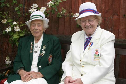 Respect: The late Grace Matthews (1909-2008) and Nancy Colling MBE